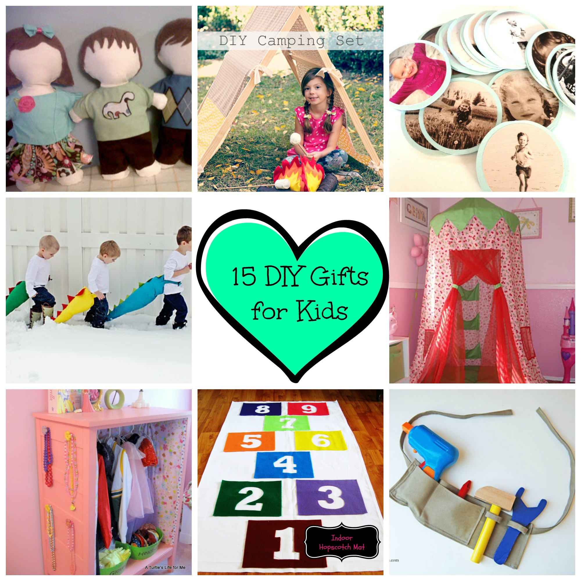 Best ideas about DIY Gifts For Kids . Save or Pin 15 Great DIY Kids Gifts – Somewhere in the Middle Now.