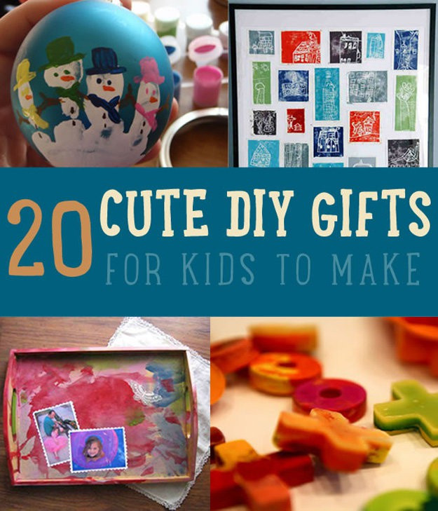 Best ideas about DIY Gifts For Kids To Make . Save or Pin DIY Gifts Kids Can Make DIY Projects Craft Ideas & How To Now.