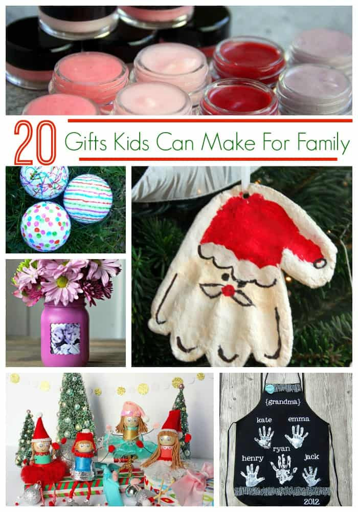 Best ideas about DIY Gifts For Kids To Make . Save or Pin DIY Gifts Kids Can Make to Gift to Family & Friends Must Now.