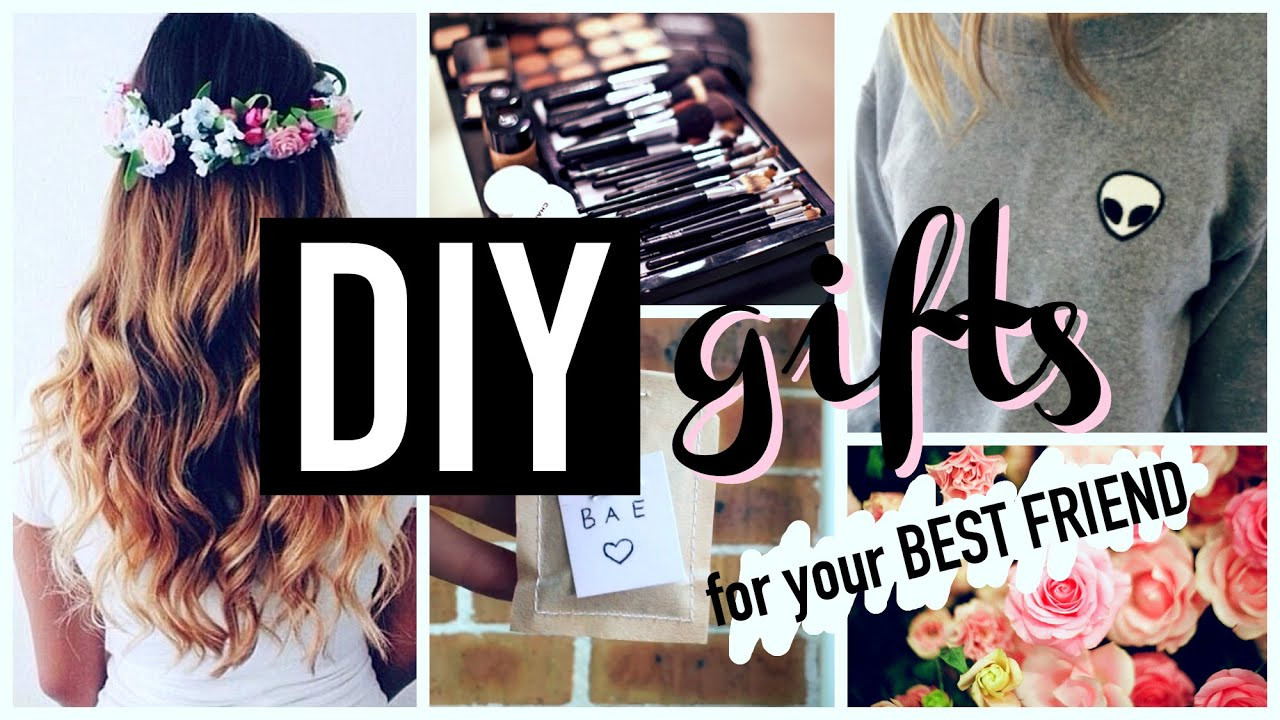 Best ideas about DIY Gifts For Your Best Friend . Save or Pin DIY Gift Ideas for Teenagers Best Friends Now.