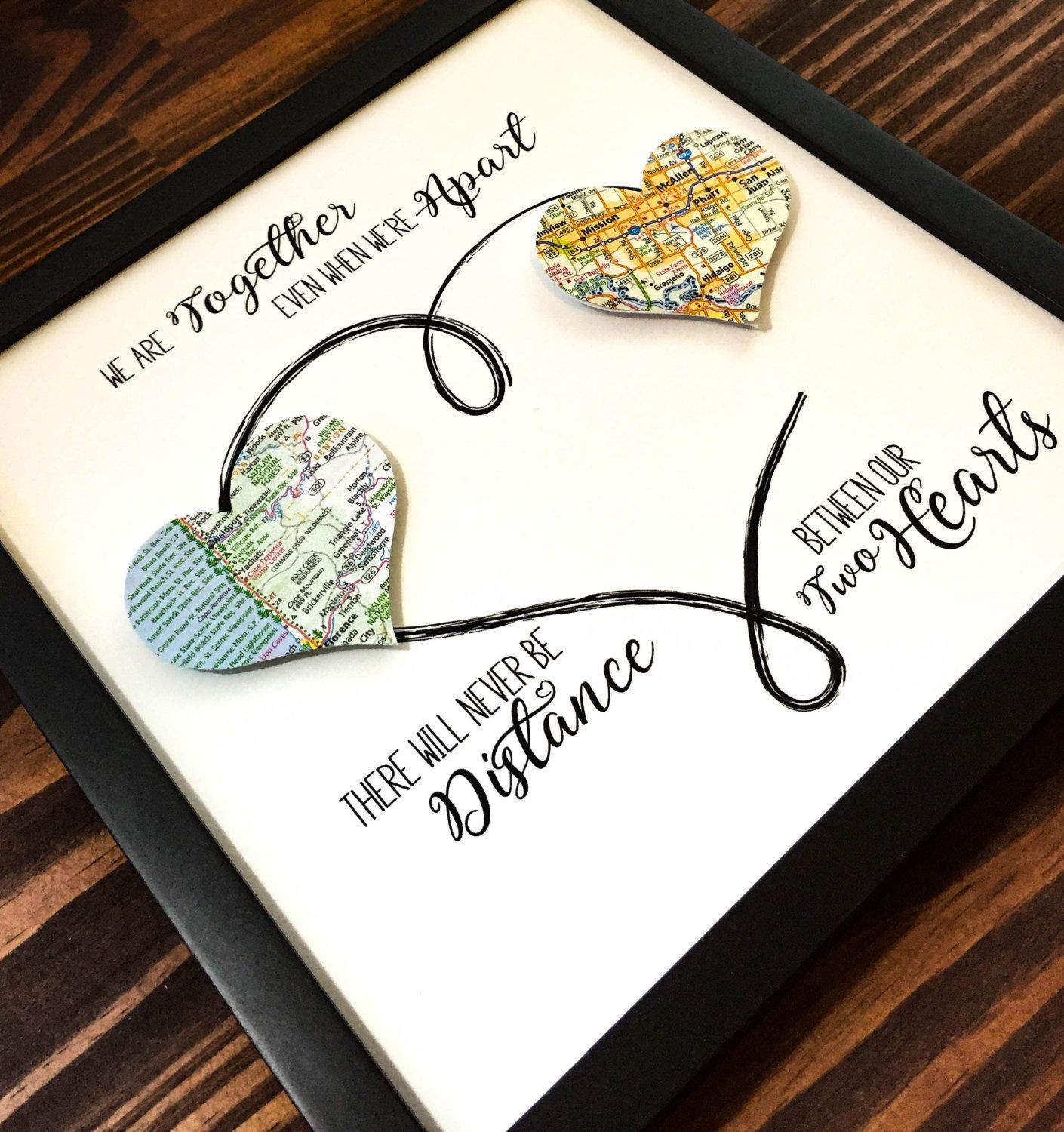 Best ideas about DIY Gifts For Your Best Friend . Save or Pin Personalized Best Friend Gift Going Away Gift by Now.