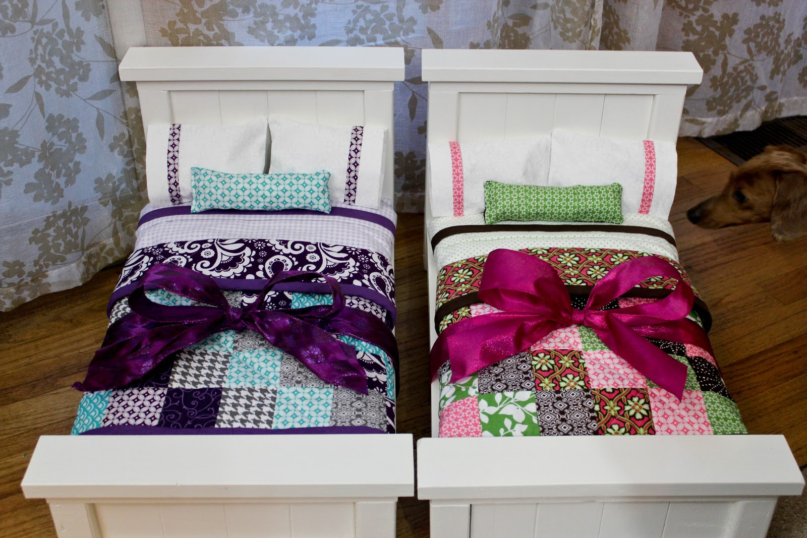 Best ideas about DIY Girls Beds . Save or Pin From Dahlias to Doxies DIY Doll Beds and Tiny Quilts Now.