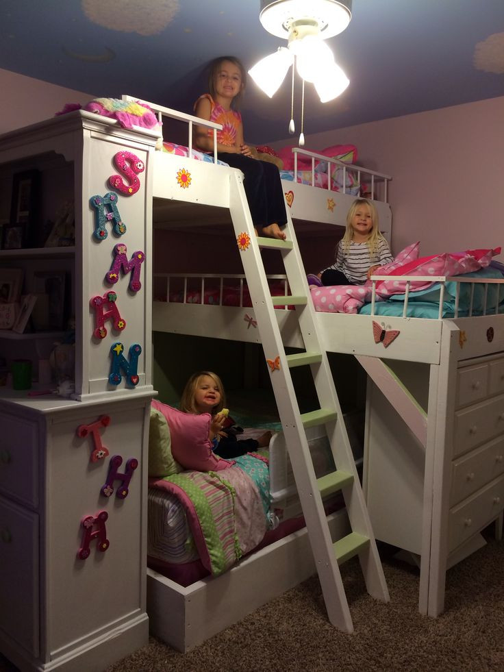 Best ideas about DIY Girls Beds . Save or Pin Diy Triple Bunk Beds WoodWorking Projects & Plans Now.