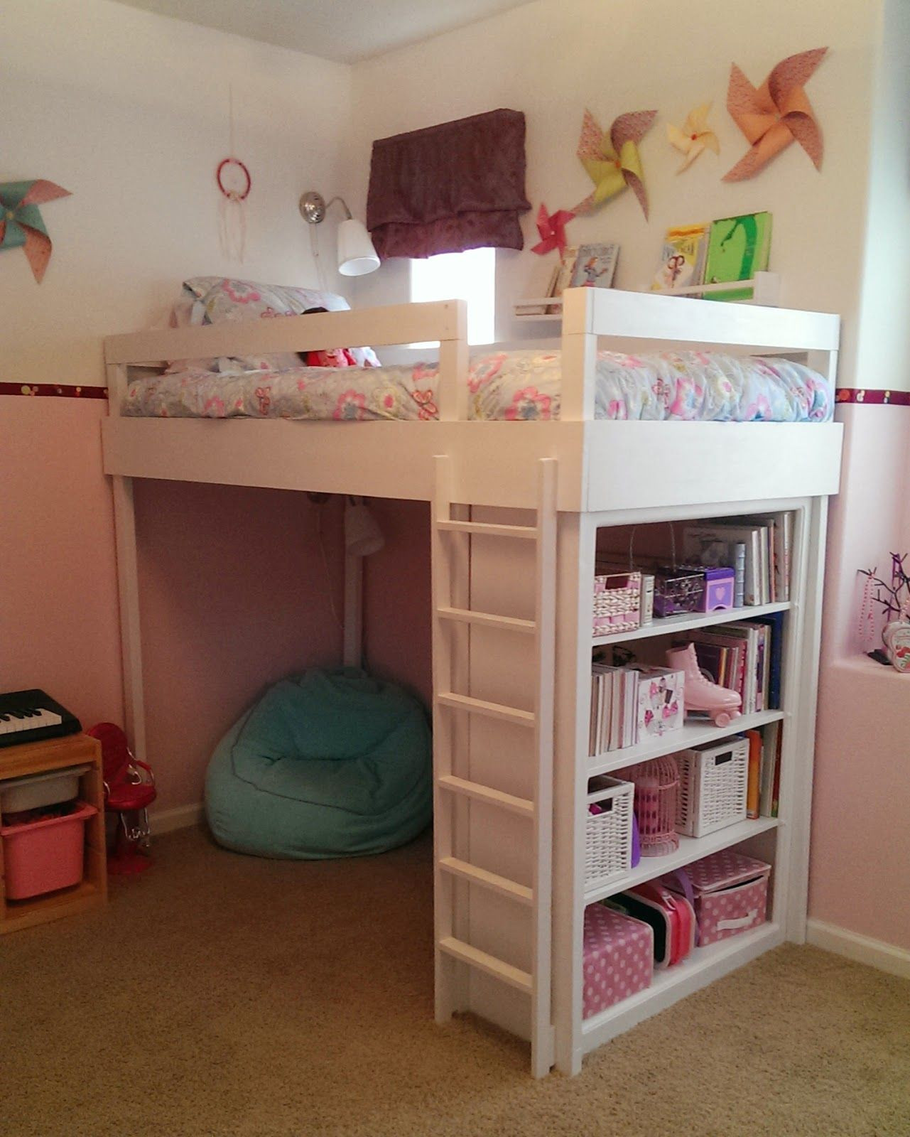 Best ideas about DIY Girls Beds . Save or Pin Lovely Neighbors DIY Loft bed for little girl s room Now.