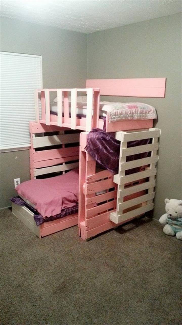 Best ideas about DIY Girls Beds . Save or Pin Pallet Furniture 10 Ideas to Reuse Old Pallets Now.