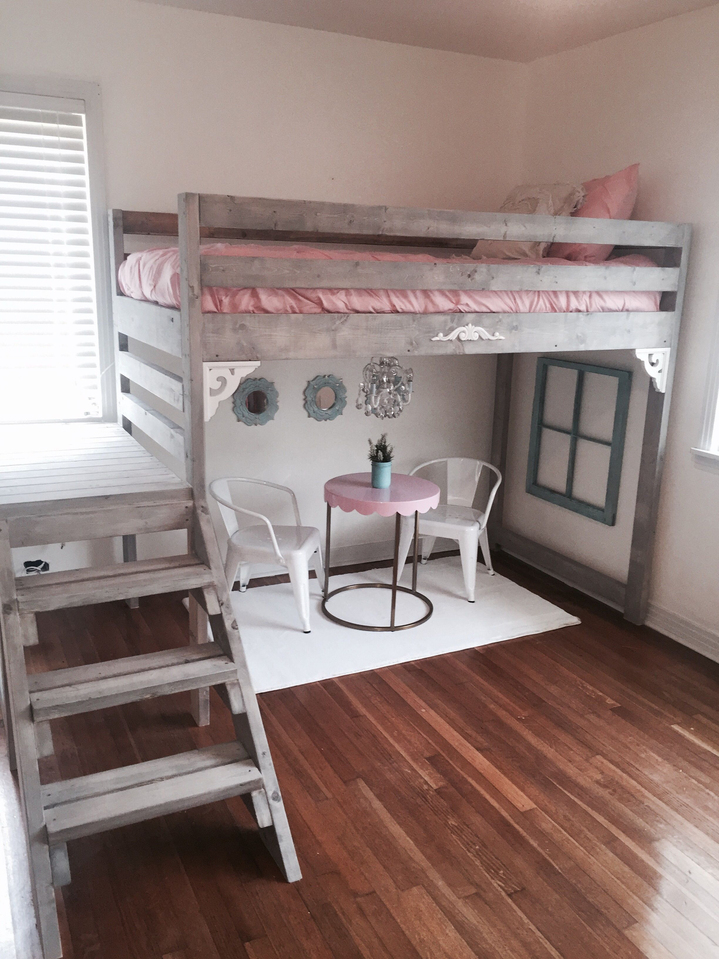 Best ideas about DIY Girls Beds . Save or Pin Ana white loft bed I made for my daughters room Now.