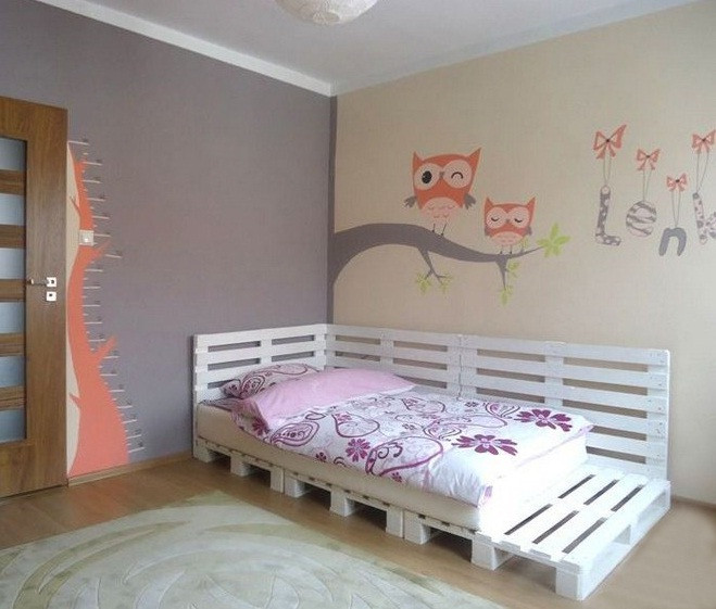Best ideas about DIY Girls Beds . Save or Pin DIY pallet furniture ideas 40 projects that you haven t seen Now.