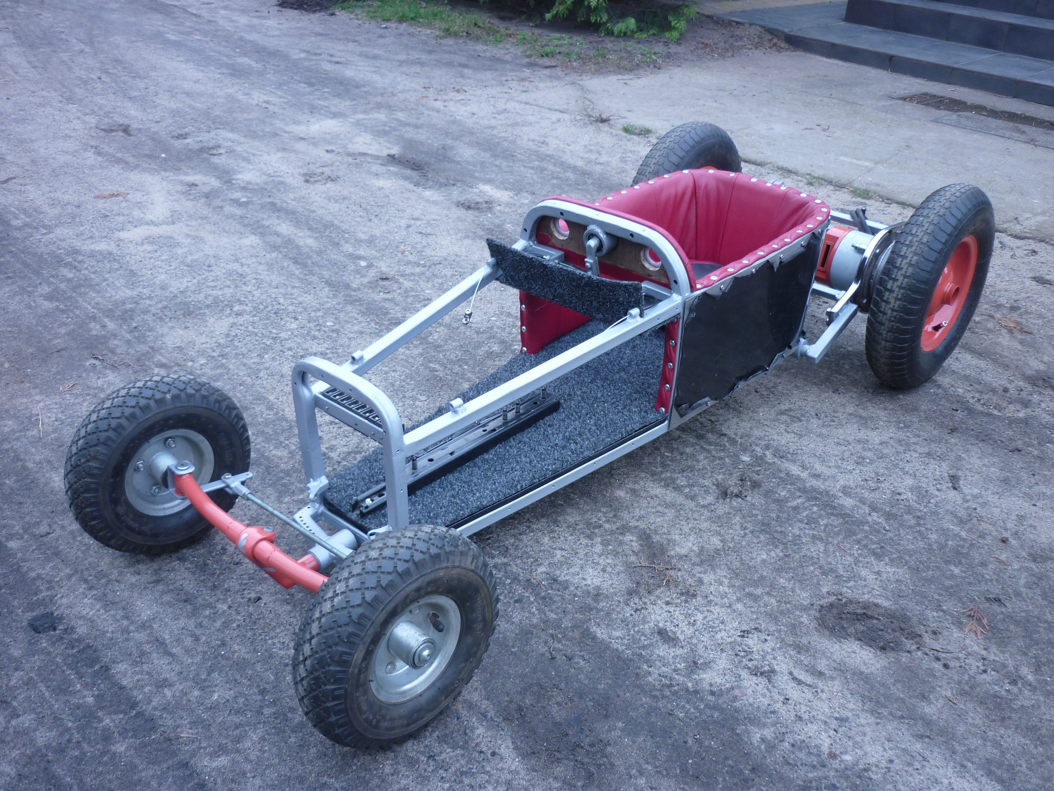 Best ideas about DIY Go Kart Kits . Save or Pin DIY Electrical go kart I ve made it for My Son Luke Now.