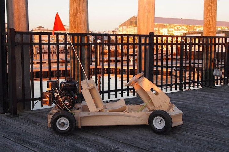 Best ideas about DIY Go Kart Kits . Save or Pin DIY PlyFly Wooden Go Kart Kit Now.