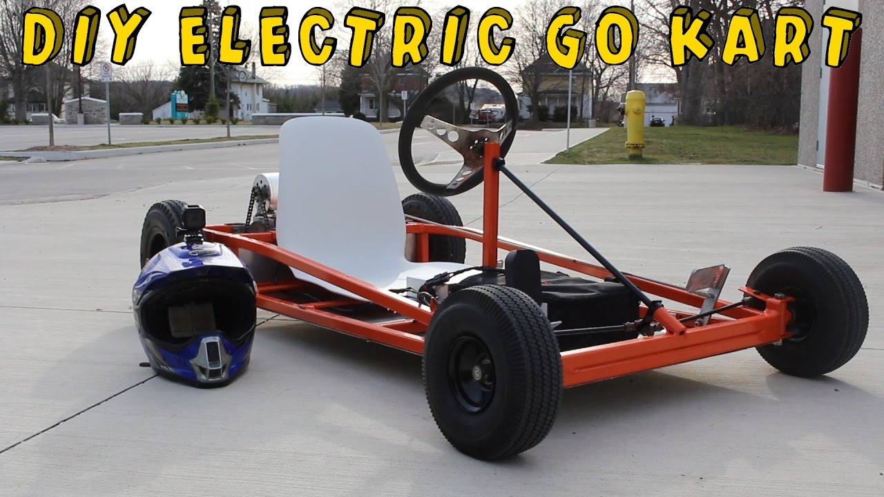 Best ideas about DIY Go Kart Kits . Save or Pin How to Make an Electric Go Kart Now.