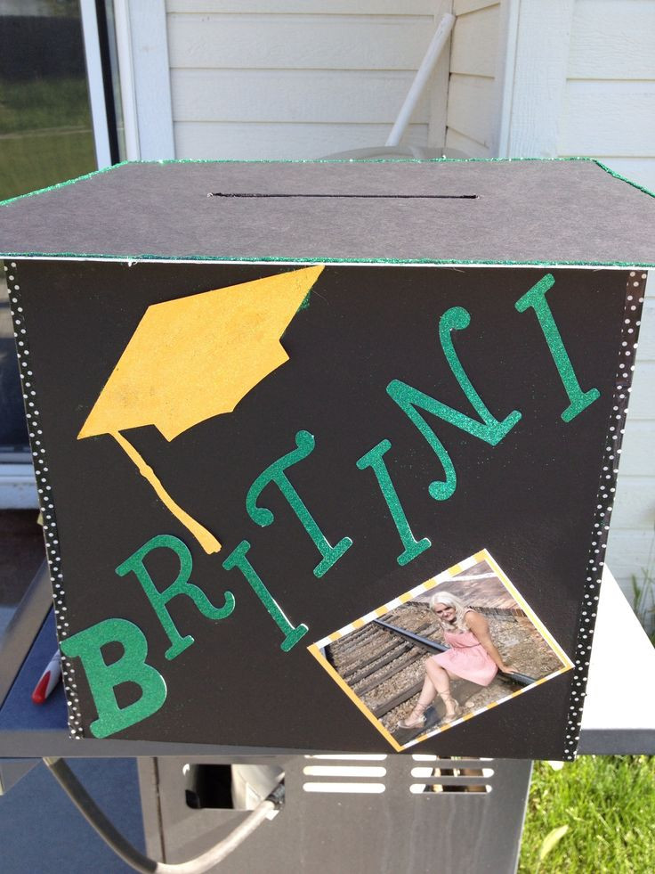 Best ideas about DIY Graduation Card Box . Save or Pin DIY graduation card box Now.