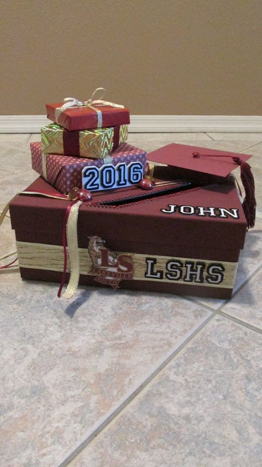 Best ideas about DIY Graduation Card Box . Save or Pin Best 25 Graduation card boxes ideas on Pinterest Now.