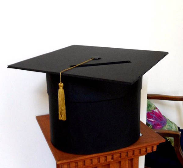 Best ideas about DIY Graduation Card Box . Save or Pin DIY Graduation Caps B Lovely Events Now.