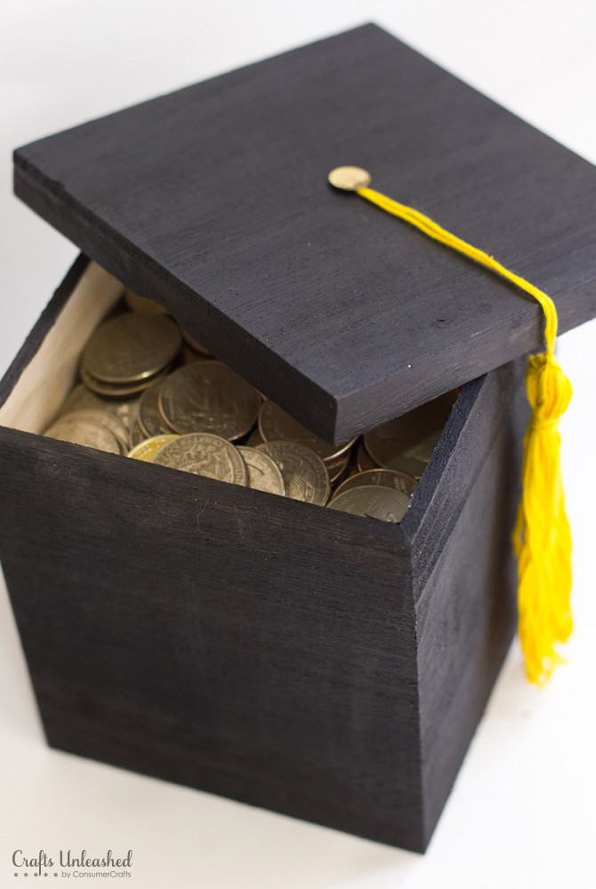 Best ideas about DIY Graduation Card Box . Save or Pin DIY Graduation Gift Box Tutorial Crafts Unleashed Now.