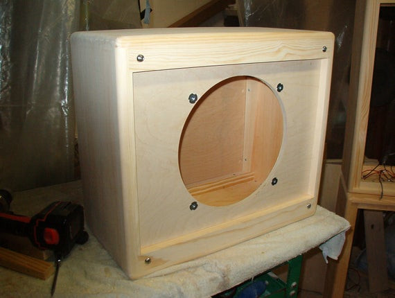 Best ideas about DIY Guitar Speaker Cabinet . Save or Pin Items similar to 112 Tweed style 1 x 12 guitar speaker Now.