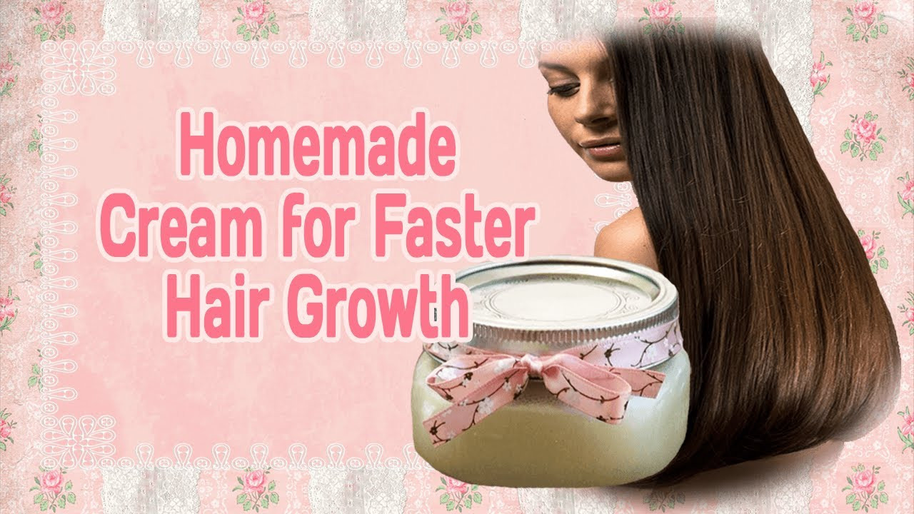 Best ideas about DIY Hair Growth Treatments . Save or Pin Homemade Cream for Faster Hair Growth Now.