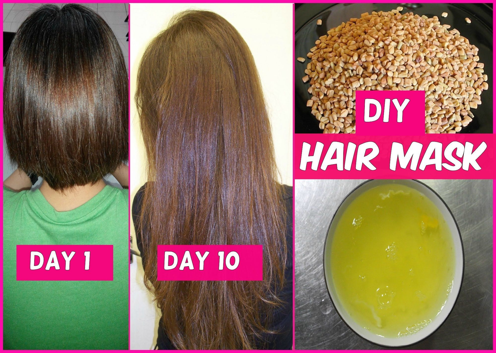 Best ideas about DIY Hair Growth Treatments . Save or Pin DIY Hair Mask for Long Hair Growth in 1 Week Now.