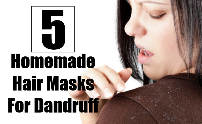 Best ideas about DIY Hair Mask For Dandruff . Save or Pin 5 Homemade Hair Masks For Dandruff That Worked Wonders For Now.