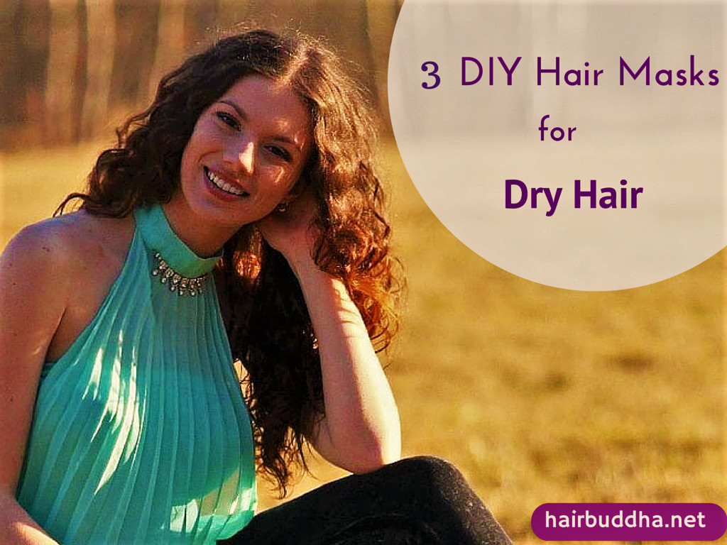 Best ideas about DIY Hair Mask For Dry Hair . Save or Pin Top 3 Homemade Hair Masks for Dry Damaged Hair hair buddha Now.