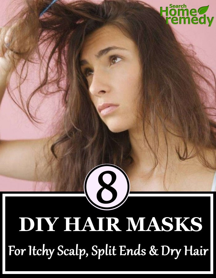 Best ideas about DIY Hair Mask For Dry Scalp . Save or Pin 8 DIY Hair Masks For Itchy Scalp Split Ends And Dry Hair Now.
