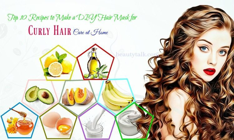 Best ideas about DIY Hair Masks For Curly Hair . Save or Pin Top 10 Recipes For DIY Hair Mask For Curly Hair Care At Home Now.