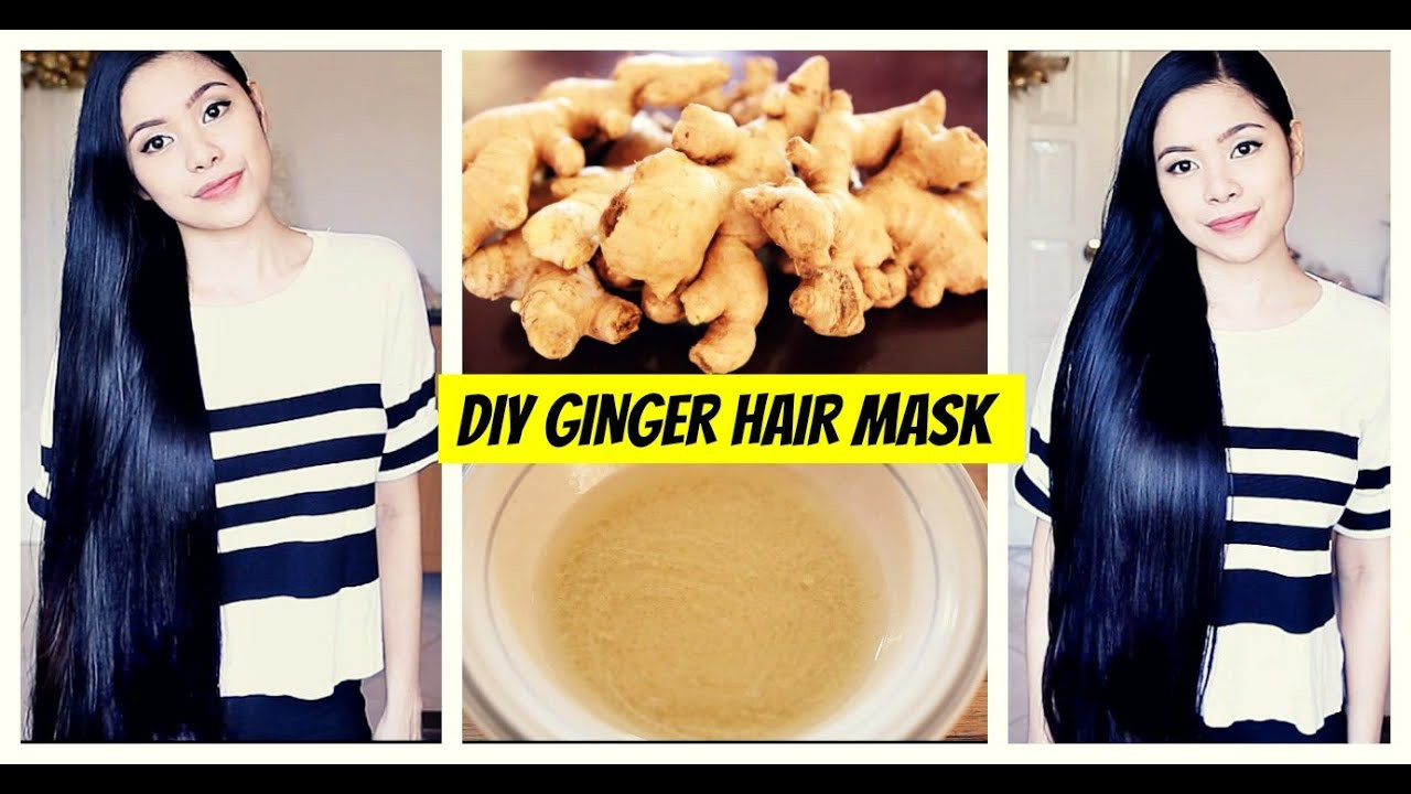 Best ideas about DIY Hair Masks For Hair Growth . Save or Pin DIY Ginger Hair Mask for Hair Growth Natural Hair Loss Now.