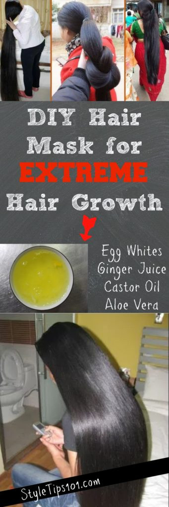 Best ideas about DIY Hair Masks For Hair Growth . Save or Pin DIY Hair Mask for Extreme Hair Growth Now.