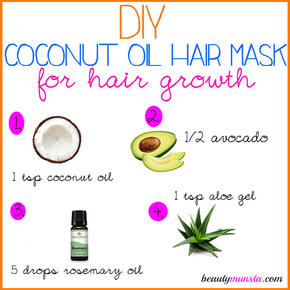 Best ideas about DIY Hair Masks For Oily Hair . Save or Pin DIY Coconut Oil Hair Mask for Hair Growth & More Now.