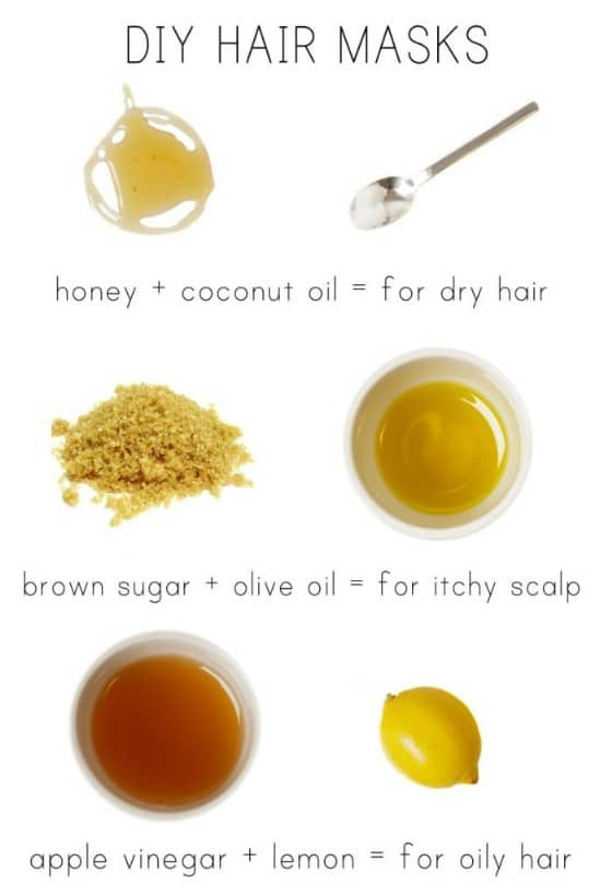 Best ideas about DIY Hair Masks For Oily Hair . Save or Pin 15 All Natural Homemade Hair Masks That Give You Healthy Now.