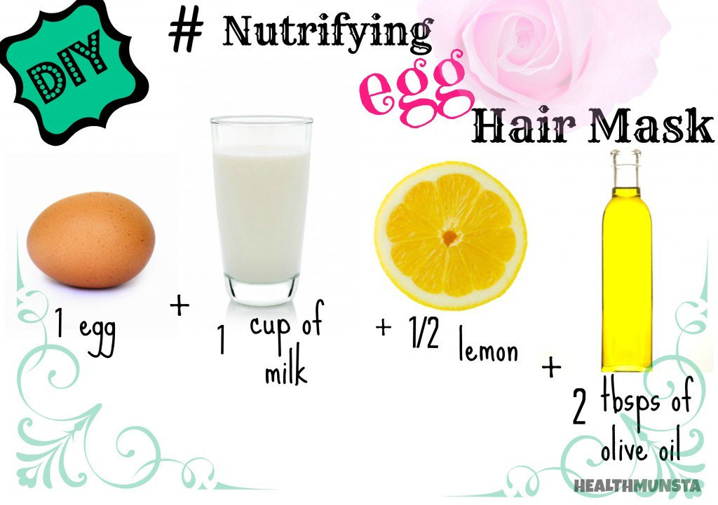 Best ideas about DIY Hair Masks . Save or Pin DIY Top 5 Easy Homemade Hair Mask Recipes for Beautiful Now.