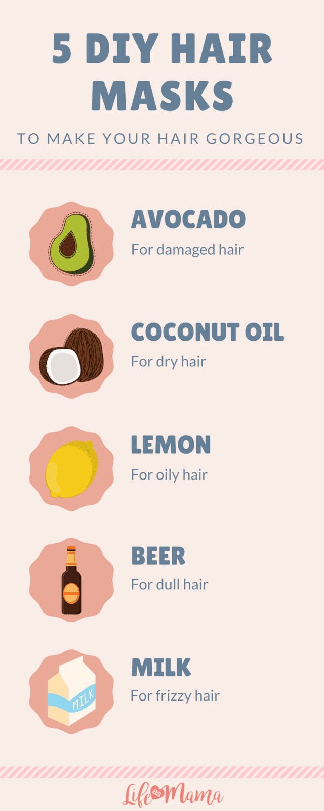 Best ideas about DIY Hair Masks . Save or Pin 5 DIY Hair Masks To Make Your Hair Gorgeous Now.