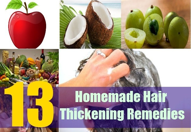 Best ideas about DIY Hair Thickener . Save or Pin Homemade Reme s To Thicken Hair How To Get Thicker Now.