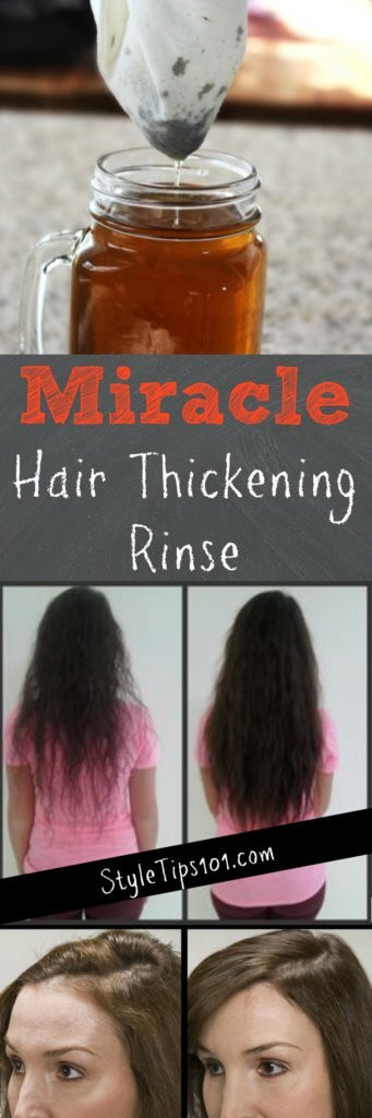 Best ideas about DIY Hair Thickener . Save or Pin How to Get Thicker Hair Naturally a DIY Hair Thickening Mask Now.
