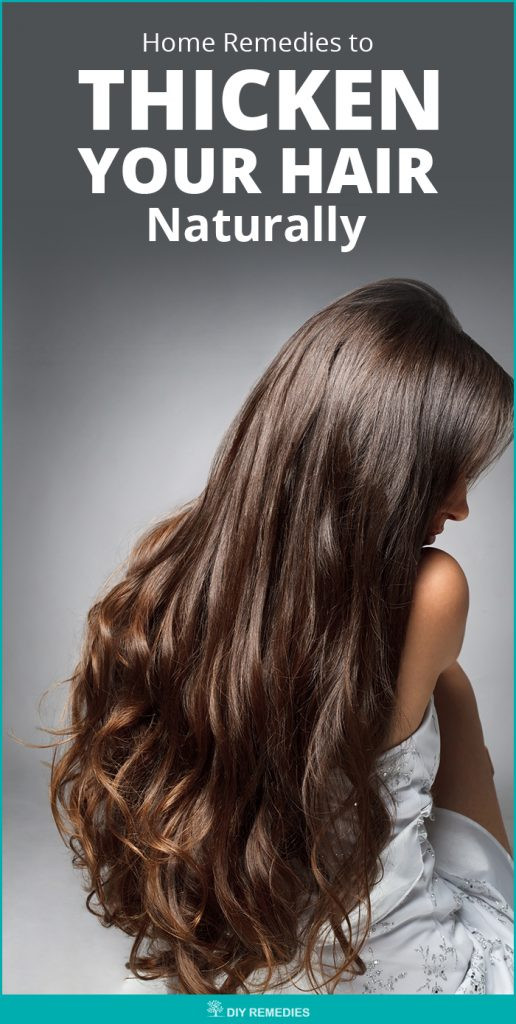 Best ideas about DIY Hair Thickener . Save or Pin Home Reme s to Thicken your Hair Naturally Now.