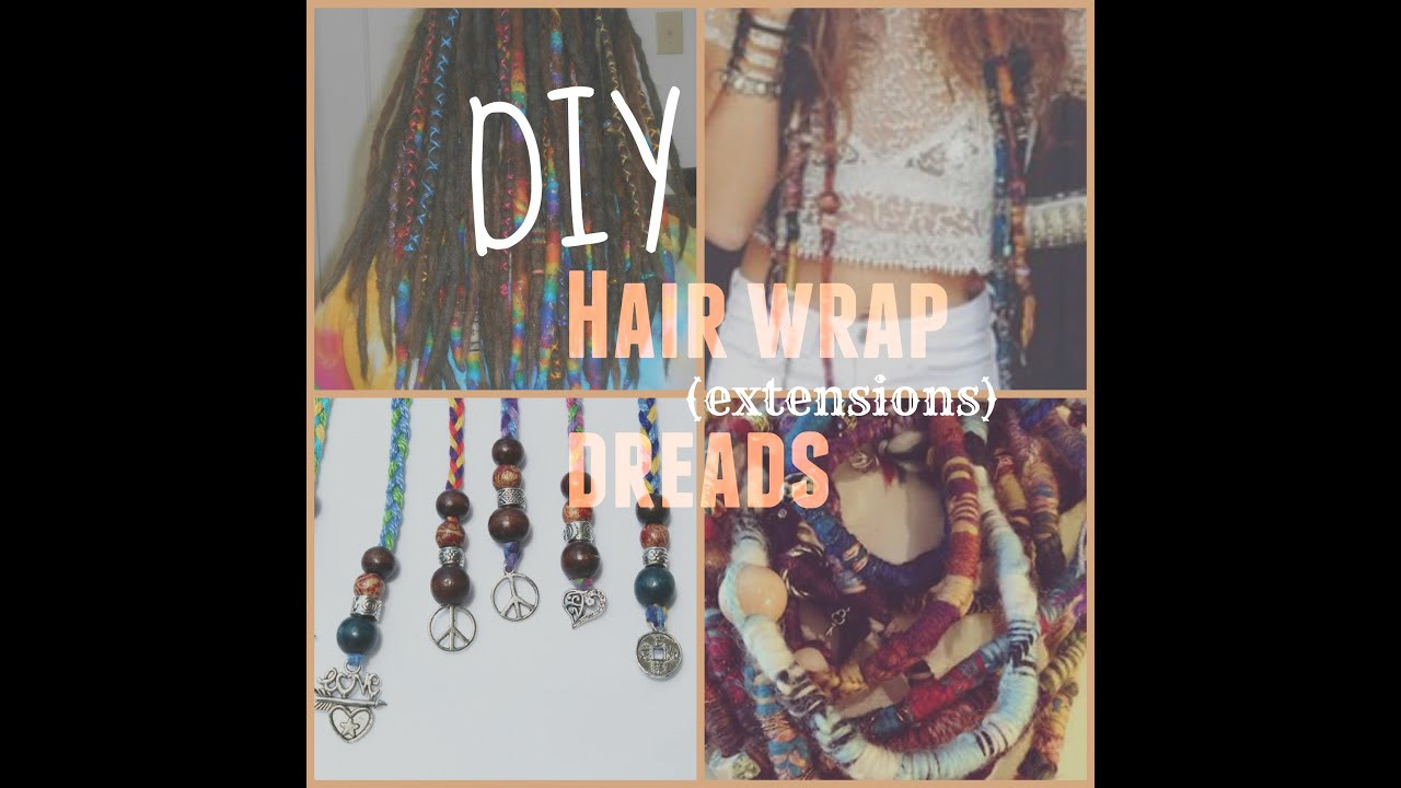 Best ideas about DIY Hair Wraps . Save or Pin DIY Hair Wrap Dread Extensions ♡ Now.