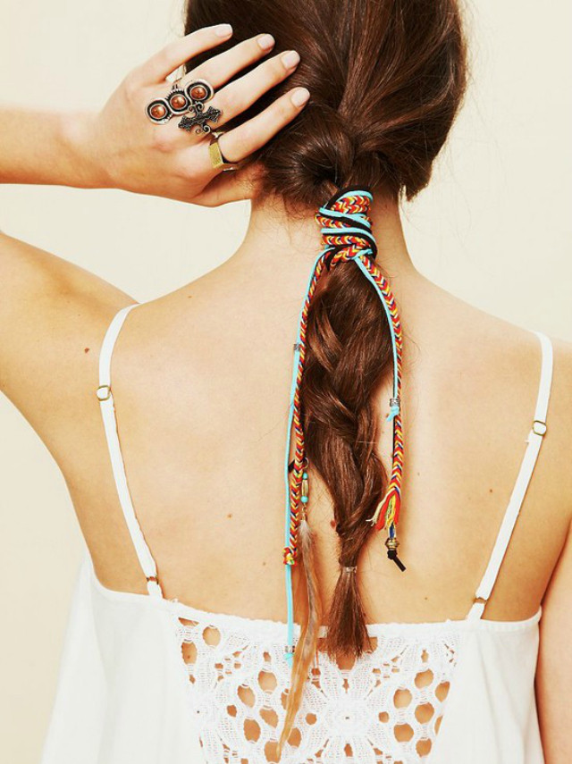 Best ideas about DIY Hair Wraps . Save or Pin 2 Floral Finches DIY Mixed Thread Hair Wraps Now.