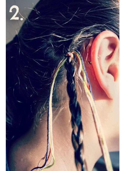 Best ideas about DIY Hair Wraps . Save or Pin DIY 90 s Hair Wrap Now.