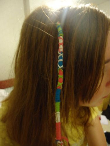 Best ideas about DIY Hair Wraps . Save or Pin Hair Wrap DIY REALLY WANT TO DO THIS girls Now.