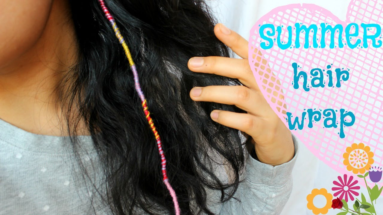 Best ideas about DIY Hair Wraps . Save or Pin DIY summer hair wrap Now.