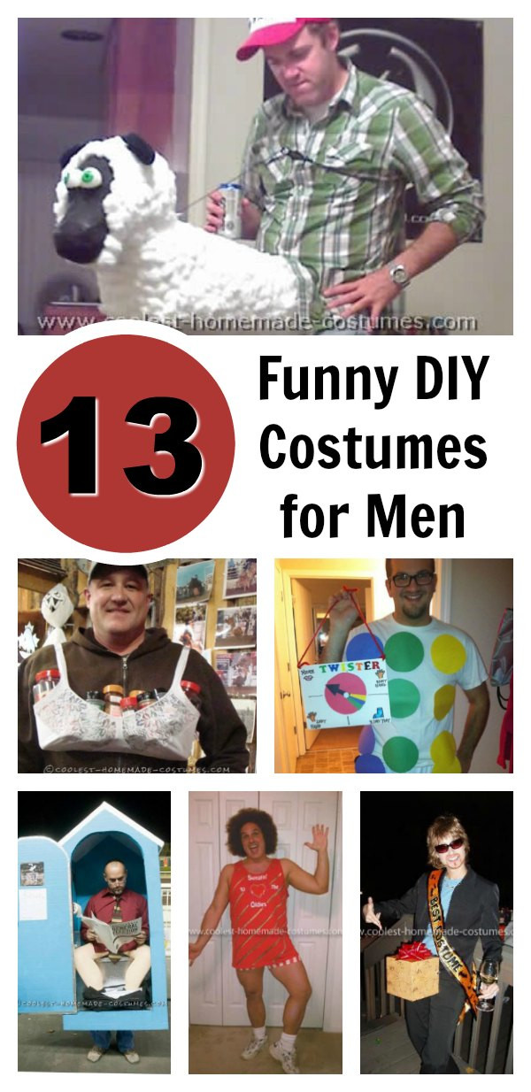 Best ideas about DIY Halloween Costumes For Adults Funny . Save or Pin Top 13 DIY Funny Adult Halloween Costumes for Men Now.