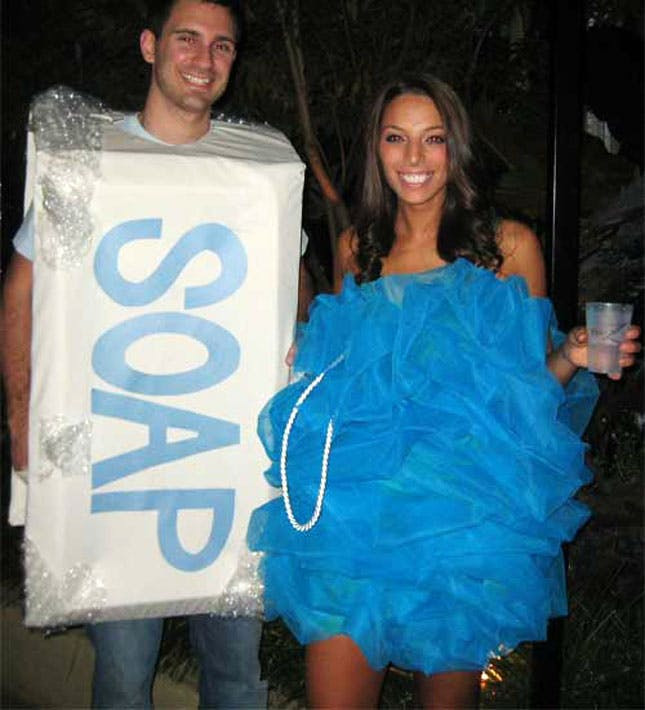 Best ideas about DIY Halloween Costumes For Adults Funny . Save or Pin 25 Genius DIY Couples Costumes Now.