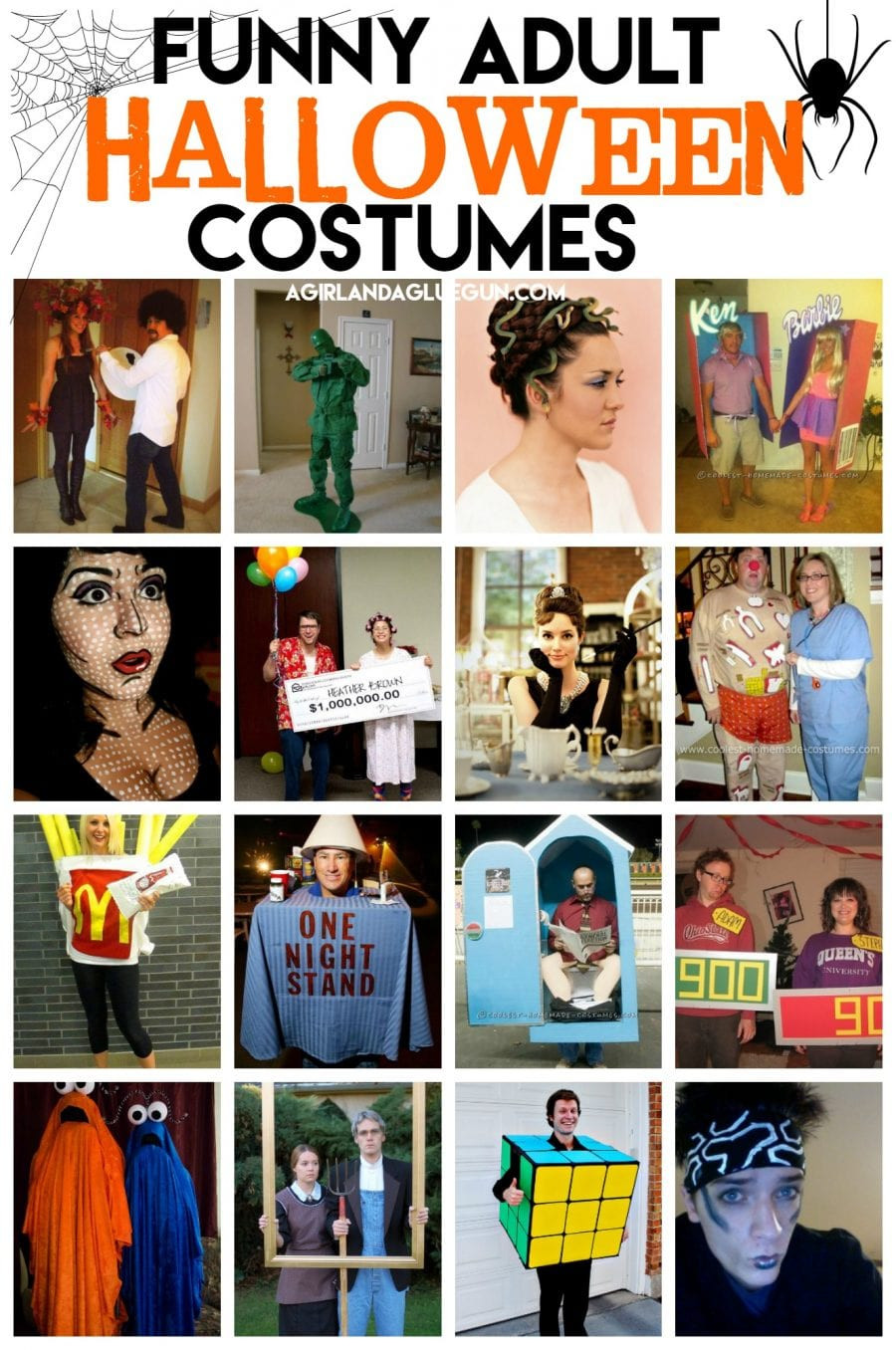 Best ideas about DIY Halloween Costumes For Adults Funny . Save or Pin Funny Halloween Costumes for Adults that you can DIY A Now.