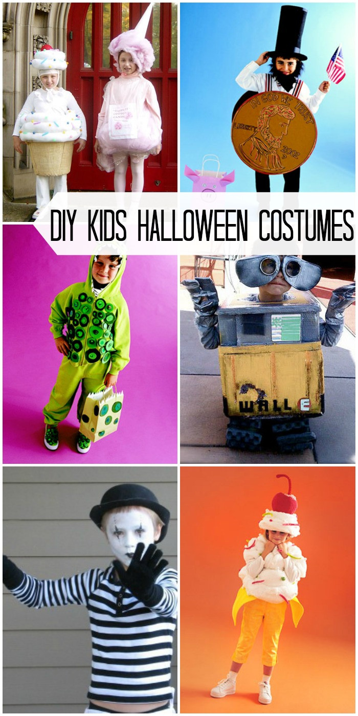 Best ideas about DIY Halloween Costumes Kids . Save or Pin DIY Halloween Kids Costumes Now.