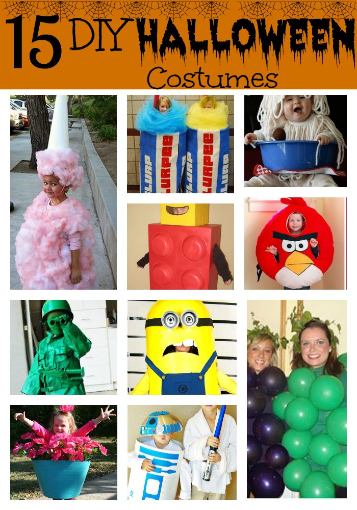 Best ideas about DIY Halloween Costumes Kids . Save or Pin 15 DIY Halloween Costumes for Kids Now.