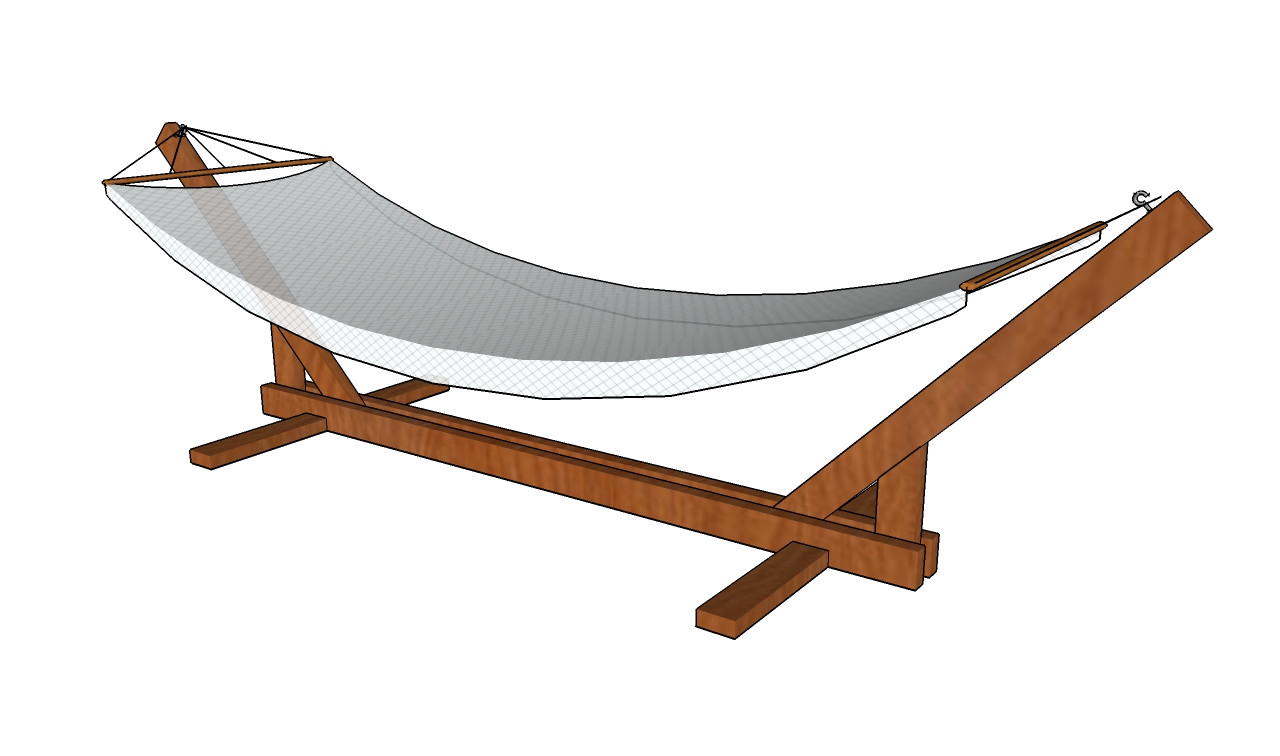 Best ideas about DIY Hammock Stand Plans . Save or Pin How to Build a Hammock Stand MyOutdoorPlans Now.