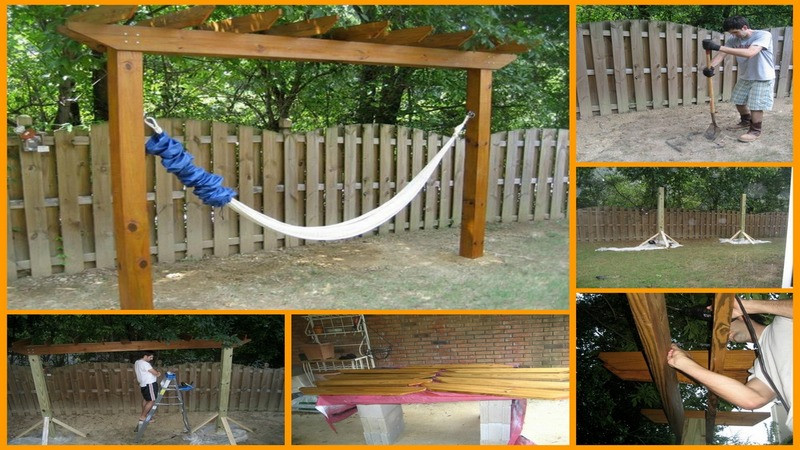 Best ideas about DIY Hammock Stand Plans . Save or Pin 15 DIY Hammock Stand to Build This Summer – Home And Now.