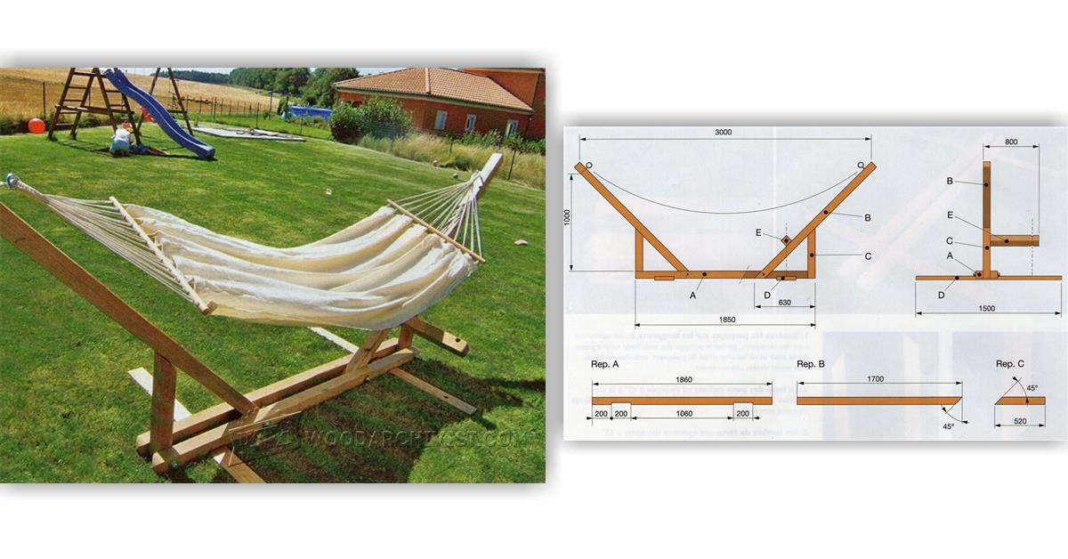 Best ideas about DIY Hammock Stand Plans . Save or Pin Hammock Stand Plans • WoodArchivist Now.
