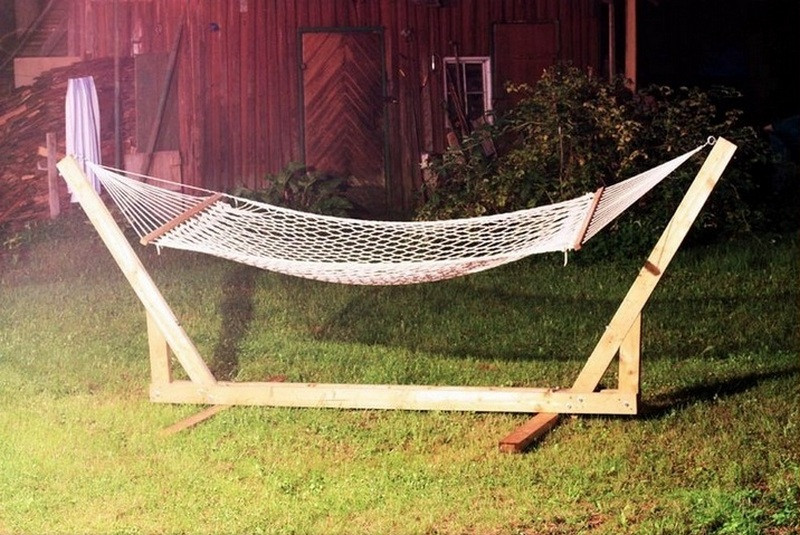 Best ideas about DIY Hammock Stand Plans . Save or Pin DIY Hammock Stand The Owner Builder Network Now.