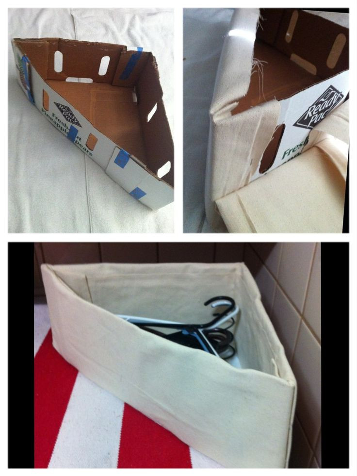 Best ideas about DIY Hanger Organizer . Save or Pin 25 best ideas about Cardboard Box Storage on Pinterest Now.
