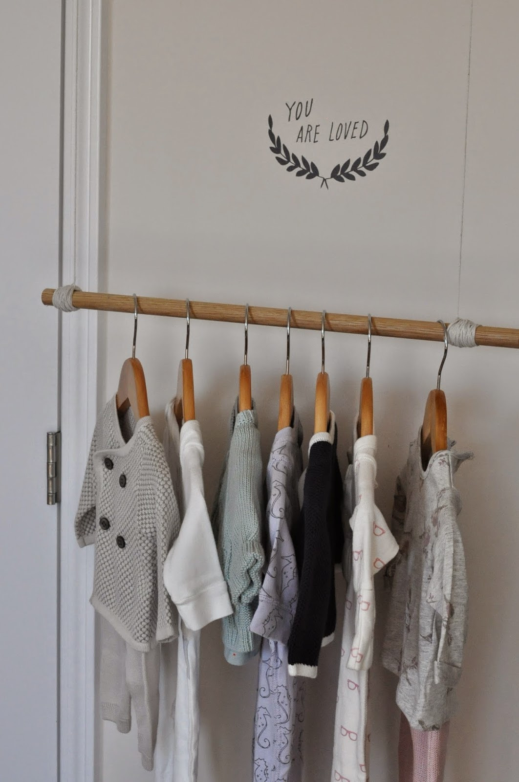 Best ideas about DIY Hanging Clothing Rack . Save or Pin RestlessOasis DIY Clothing Rack Now.